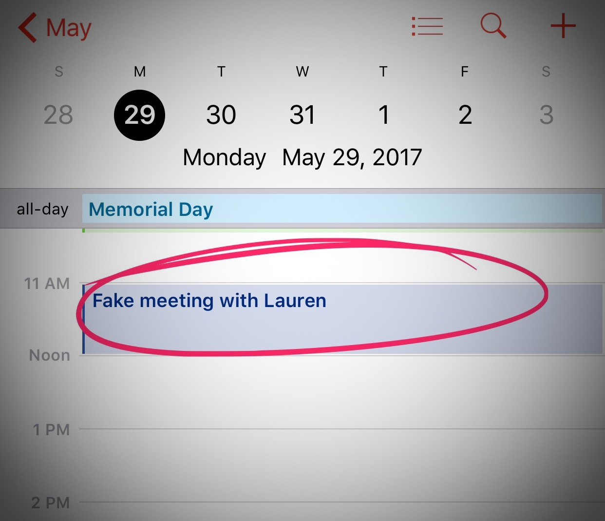 This meeting is totally fake, right?